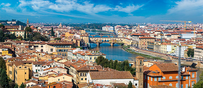 Grand Panoramic Tour & Accademia Gallery