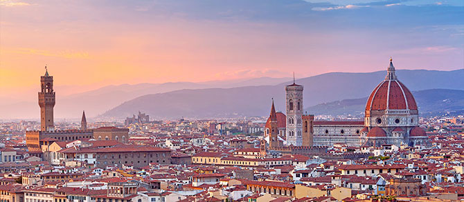 Welcome to Florence - walking tour of Florence